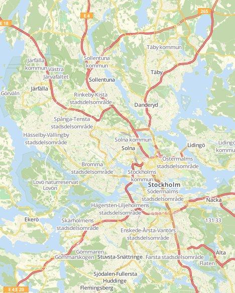 Kommuner I Blekinge Karta.Valresultat Kommunvalet Stockholm Svt Nyheter