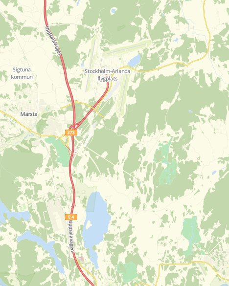Karta Arlanda Inrikes.Valresultat Landstingsvalet 19 Norra Rosersberg Skanela Svt Nyheter