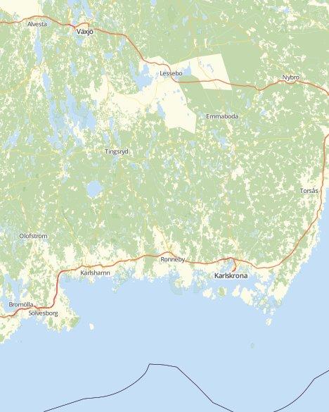 Kommuner I Blekinge Karta.Valresultat Kommunvalet Blekinge Lan Svt Nyheter