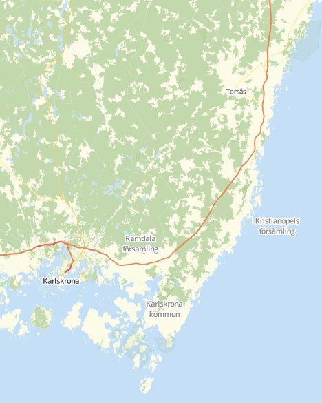 Kommuner I Blekinge Karta.Valresultat Landstingsvalet Karlskrona O Svt Nyheter