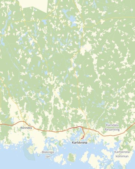Kommuner I Blekinge Karta.Valresultat Landstingsvalet Karlskrona V Svt Nyheter