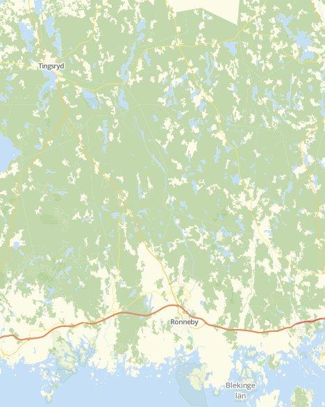 Kommuner I Blekinge Karta.Valresultat Riksdagsvalet Ronneby Svt Nyheter