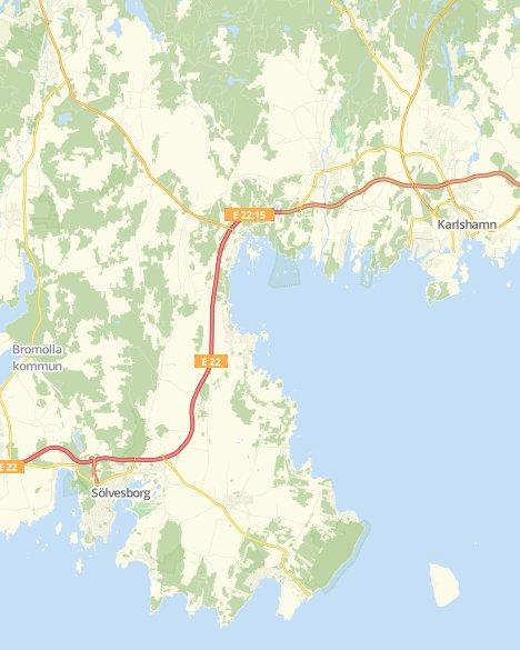Kommuner I Blekinge Karta.Valresultat Landstingsvalet Solvesborg Svt Nyheter