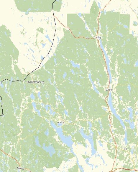 Karta Arvika Kommun.Valresultat Kommunvalet Arvika Svt Nyheter